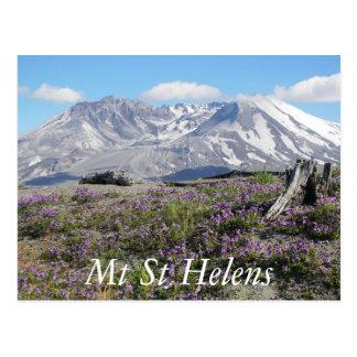 Der Mount- Saint Helensreise Postkarte