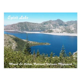 Der Mount- Saint Helensspirit See-Reise-Foto Postkarte