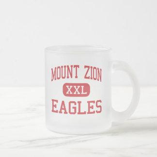 Der Mount Zion - Eagles - hoch - der Mount Zion Mattglastasse