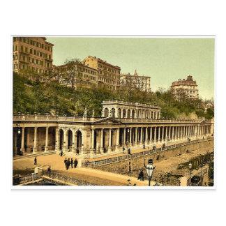 Der Muhl Frühling, Karlsbad, Böhmen, Austro-Ungarn Postkarte