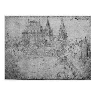 Der Münster in Aachen, 1520 Postkarte