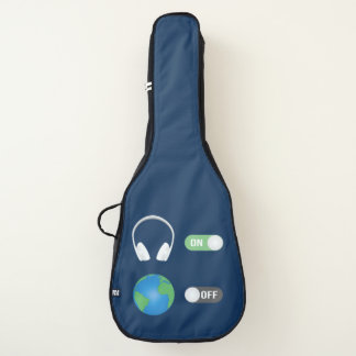 Der Musik-Schalter Gitarrentasche