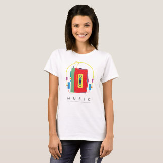Der Musik-| Walkman-T - Shirt des
