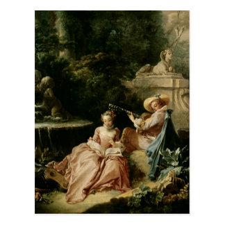Der Musikunterricht, 1749 Postkarten