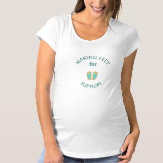 Der MutterschaftsT - Shirt der Insel-Frau