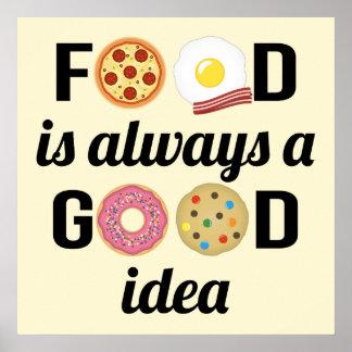 Der Nahrungsmittelliebhaber Poster