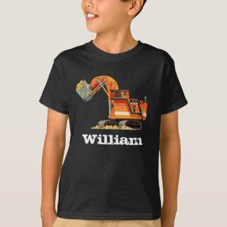 Der Name-Bau-LKW-Gräber des Kindes T-Shirt