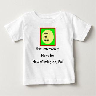 Der Nanowatt-Nachrichten-Baby-T - Shirt