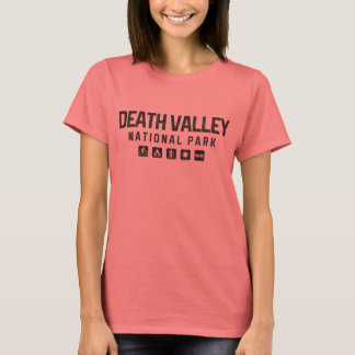 Der Nationalpark-Frauen Death Valley das T-Shirt