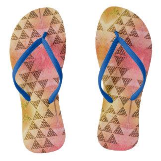 Der neue blaue Durchmesser Flip Flops