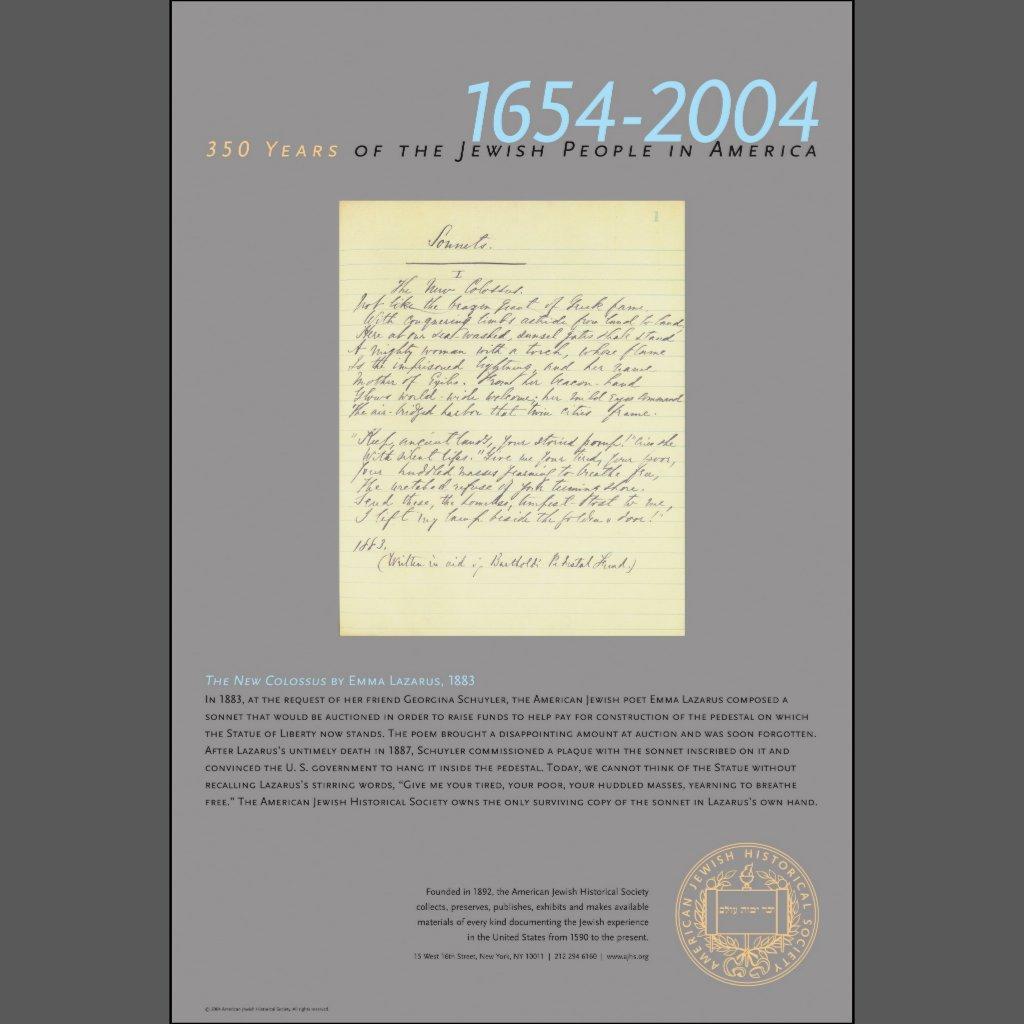 Emma Lazarus der neue koloss