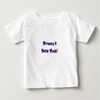 Der neue Mann lustiger Babyjungen-Shirt ~ Mama! Baby T-shirt