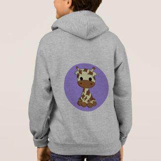 Der niedliche Hoodie des Giraffe kawaii
