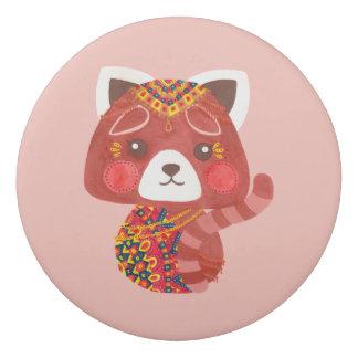 Der niedliche rote Panda Radiergummi 1