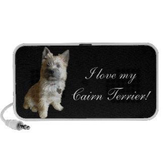 Der niedlichste Cairn-Terrier überhaupt!  Niedlich iPod Lautsprecher
