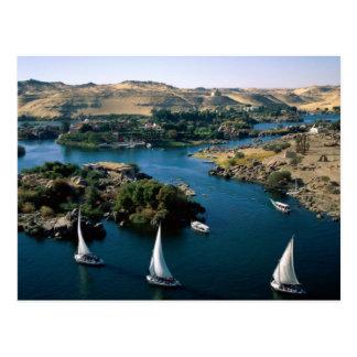 Der Nil Postkarte