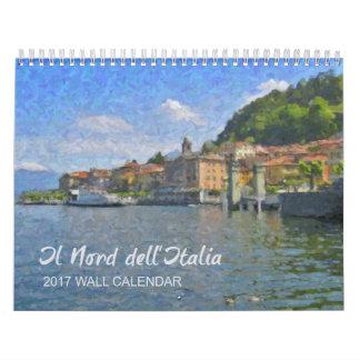 Der Norden von Italien-Kalender, 2017 Abreißkalender