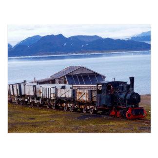 Der nördlichste Zug der Welt, Svalbard Postkarte