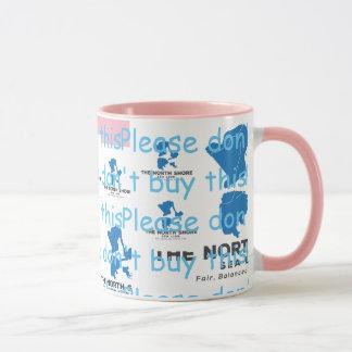 Der Nordufer-Seelöwe-Bevera-Oh Gott, den wir Tasse
