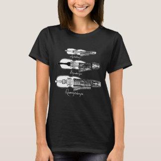 Der Nyckelharpa der Frauen Dunkelheit T - Shirt