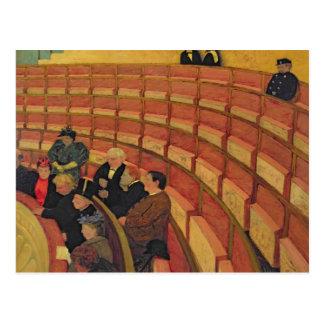 Der obere Kreis am Theater du Chatelet Postkarte