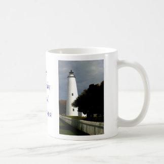Der Ocracoke Insel-Leuchtturm Kaffeetasse