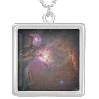 Der Orions-Nebelfleck 2 Versilberte Kette
