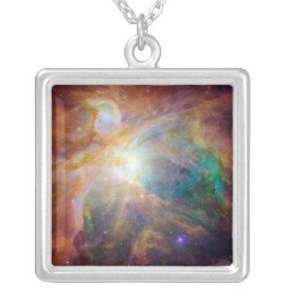 Der Orions-Nebelfleck 3 Versilberte Kette