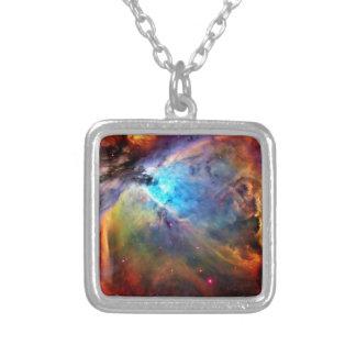 Der Orions-Nebelfleck Versilberte Kette