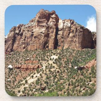 Der Osttempel Zion Nationalpark in Utah Untersetzer