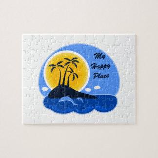Der Ozean ist mein glücklicher Platz Puzzle
