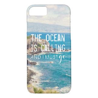 Der Ozean nennt - Telefon-Kasten Maui-Küsten-| iPhone 8/7 Hülle