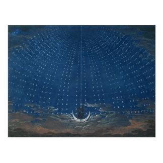 Der Palast der Königin der Nacht Postkarte
