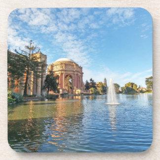 Der Palast der schöner Künste Kalifornien Untersetzer