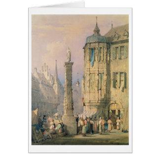 Der Palast des Bischofs, Würzburg Grußkarte