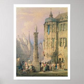 Der Palast des Bischofs, Würzburg Posterdruck