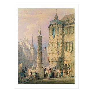 Der Palast des Bischofs, Würzburg Postkarte