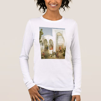 Der Palast des Khan von Baku, Apsheron Halbinsel Langarm T-Shirt