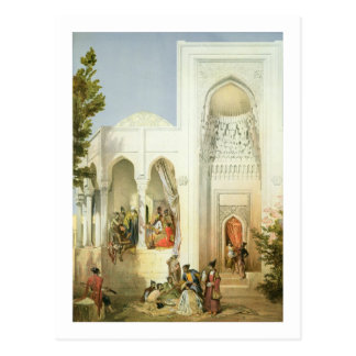 Der Palast des Khan von Baku, Apsheron Halbinsel Postkarte