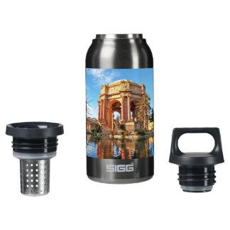 Der Palast Sans Fransisco Isolierte Flasche