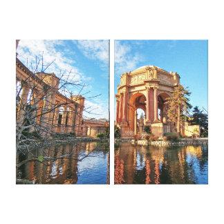 Der Palast Sans Fransisco Leinwanddruck
