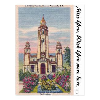 Der Pantheon, Caracas, Venezuela Postkarte
