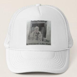 Der Papst Hat durch Ishah Laurah Guillen Wright Truckerkappe