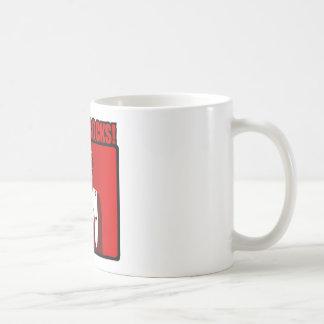 Der Papst Rocks Teetasse
