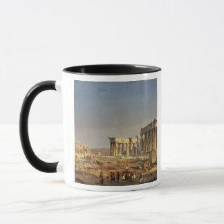 Der Parthenon, 1863 Tasse