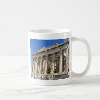 Der Parthenon an Akropolise 447 BC Kaffeetasse