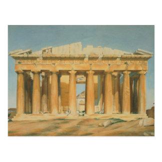 Der Parthenon, Athen, 1810-37 Postkarte