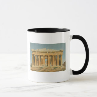 Der Parthenon, Athen, 1810-37 Tasse
