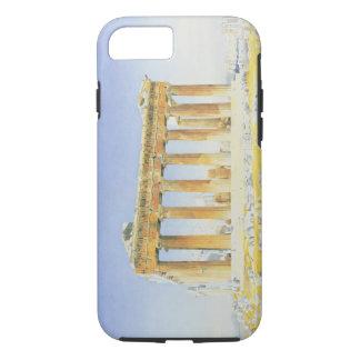Der Parthenon, c.1834 (w/c über Bleistift auf iPhone 8/7 Hülle