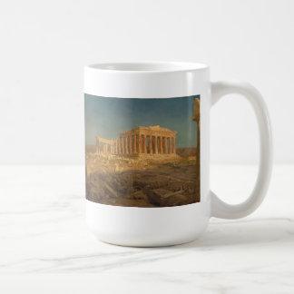 Der Parthenon Kaffeetasse